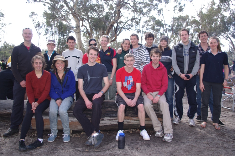 2011 Aust Uni Rogaining Champs Team Photo